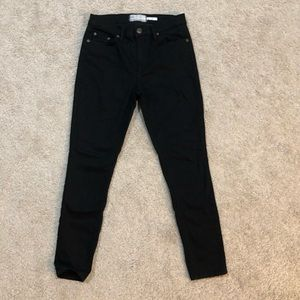 Free People black skinny jeans size 27